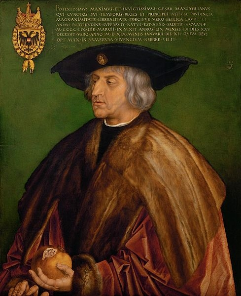 Maximilian i gemälde von albrecht dürer 1519 wikimedia gemeinfrei